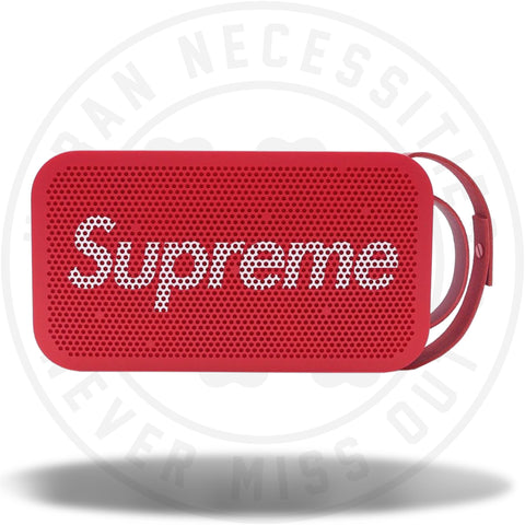 Supreme B and O Play By Bang Olufsen A2 Portable Speaker Red-Urban Necessities