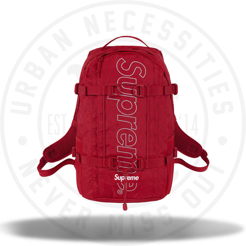 Supreme Backpack (FW18) Red-Urban Necessities