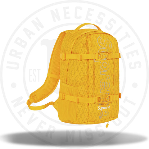 Supreme Backpack (FW18) Yellow-Urban Necessities