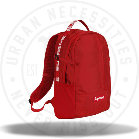 Supreme Backpack (SS18) Red-Urban Necessities