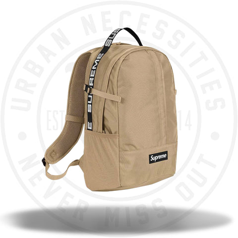 Supreme Backpack (SS18) Tan-Urban Necessities