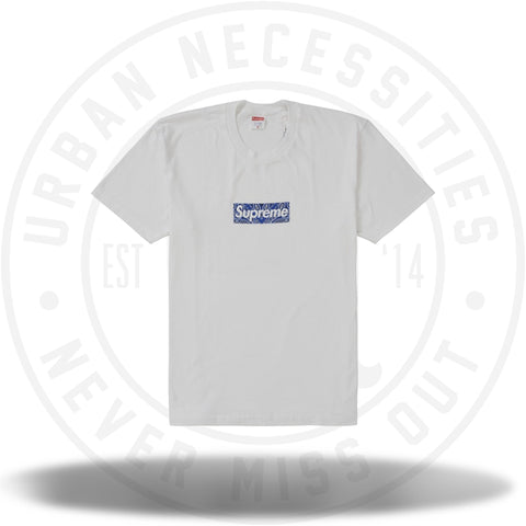 Supreme Bandana Box Logo Tee White-Urban Necessities
