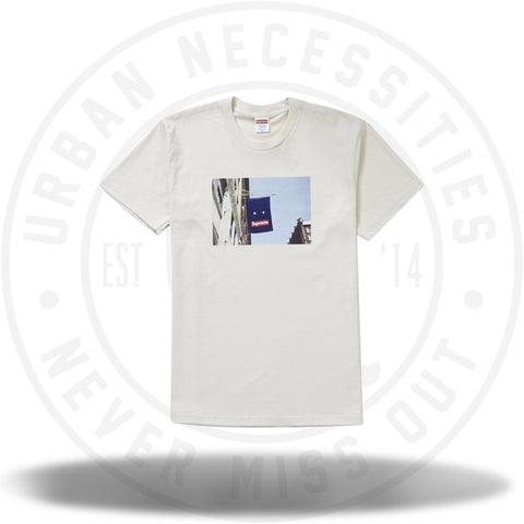 Supreme Banner Tee Natural-Urban Necessities