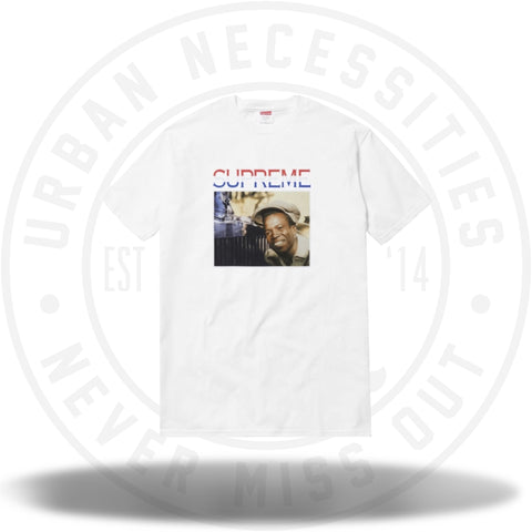 Supreme Barrington Levy Tee White-Urban Necessities