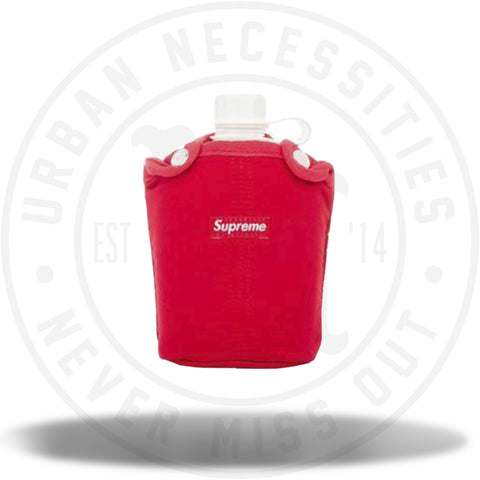 Supreme Battle Ready Water Container Red-Urban Necessities