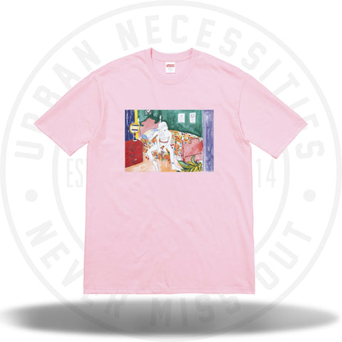 Supreme Bedroom Tee Light Pink-Urban Necessities