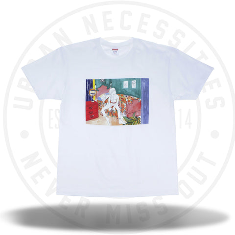 Supreme Bedroom Tee White-Urban Necessities