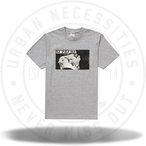 Supreme Bela Lugosi Tee Heather Grey-Urban Necessities