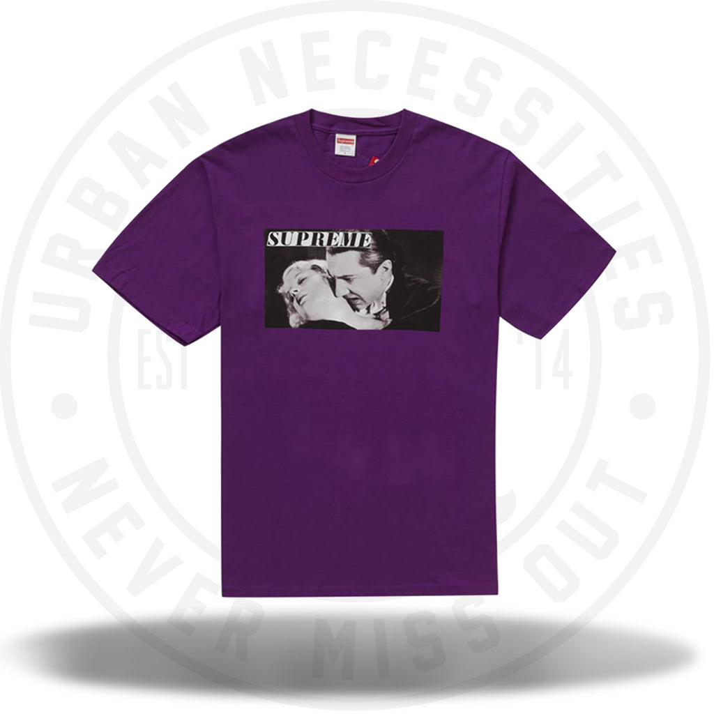 Supreme Bela Lugosi Tee Purple-Urban Necessities