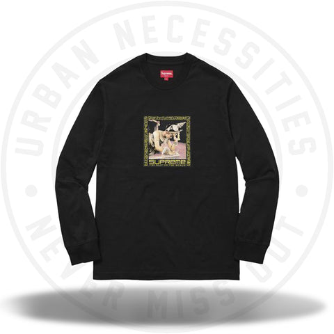 Supreme Best in the World L/S Tee Black-Urban Necessities