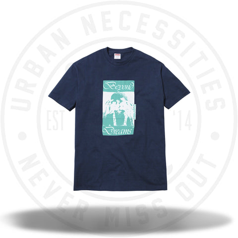 Supreme Beyond Dreams Tee Navy-Urban Necessities