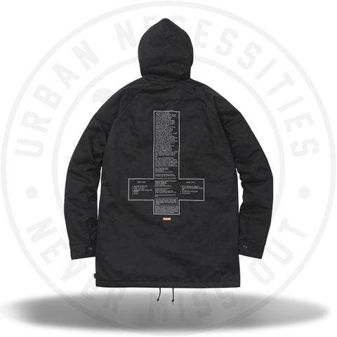 Supreme Black Sabbath Hooded Parka Black-Urban Necessities