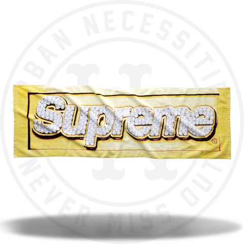 Supreme Bling Box Logo Towel-Urban Necessities