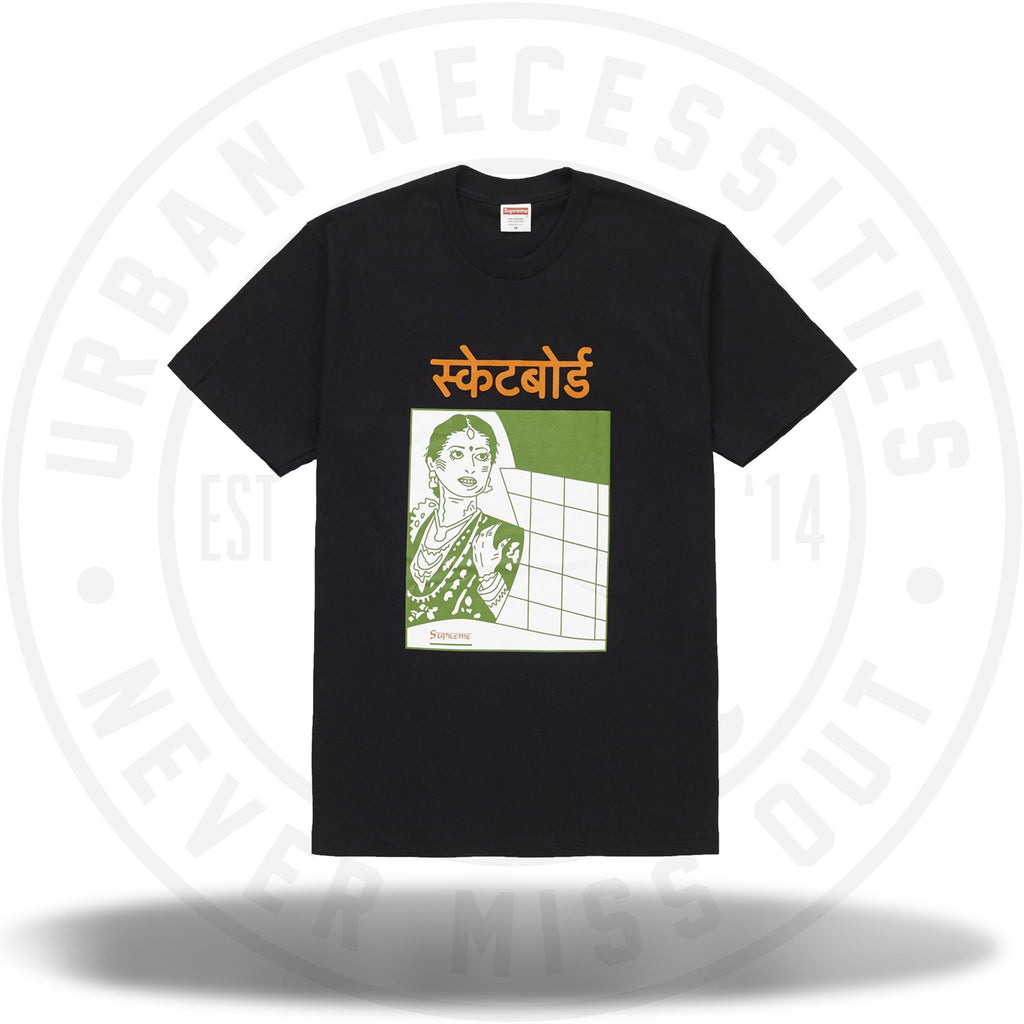Supreme Bombay Tee Black-Urban Necessities