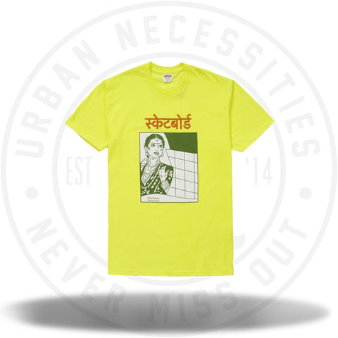 Supreme Bombay Tee Bright Yellow-Urban Necessities