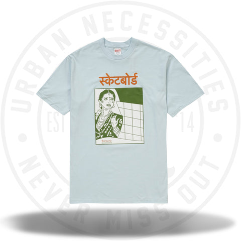 Supreme Bombay Tee Pale Blue-Urban Necessities