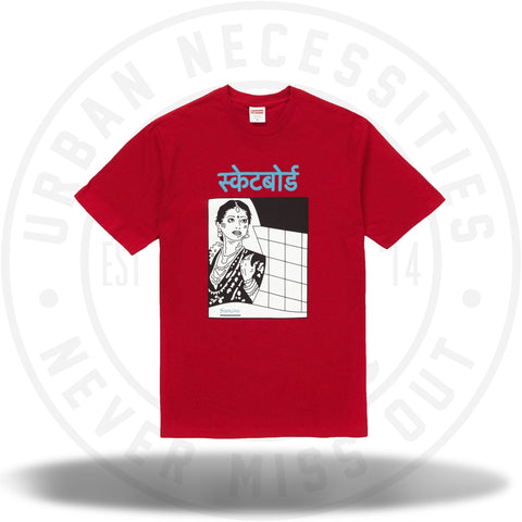 Supreme Bombay Tee Red-Urban Necessities