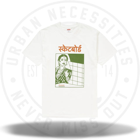 Supreme Bombay Tee White-Urban Necessities