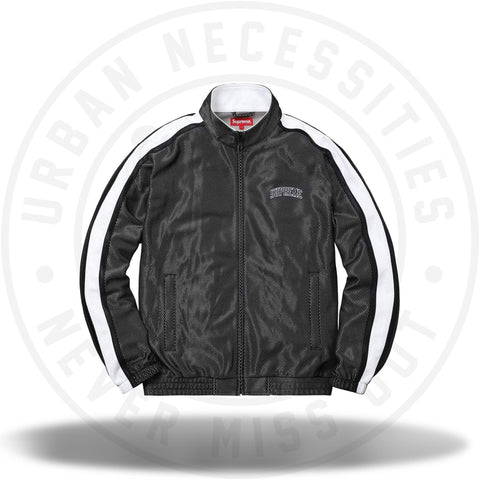 Supreme Bonded Mesh Track Jacket Black-Urban Necessities