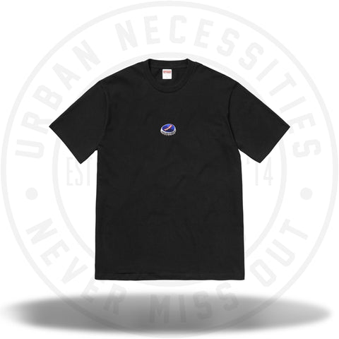 Supreme Bottle Cap Tee Black-Urban Necessities