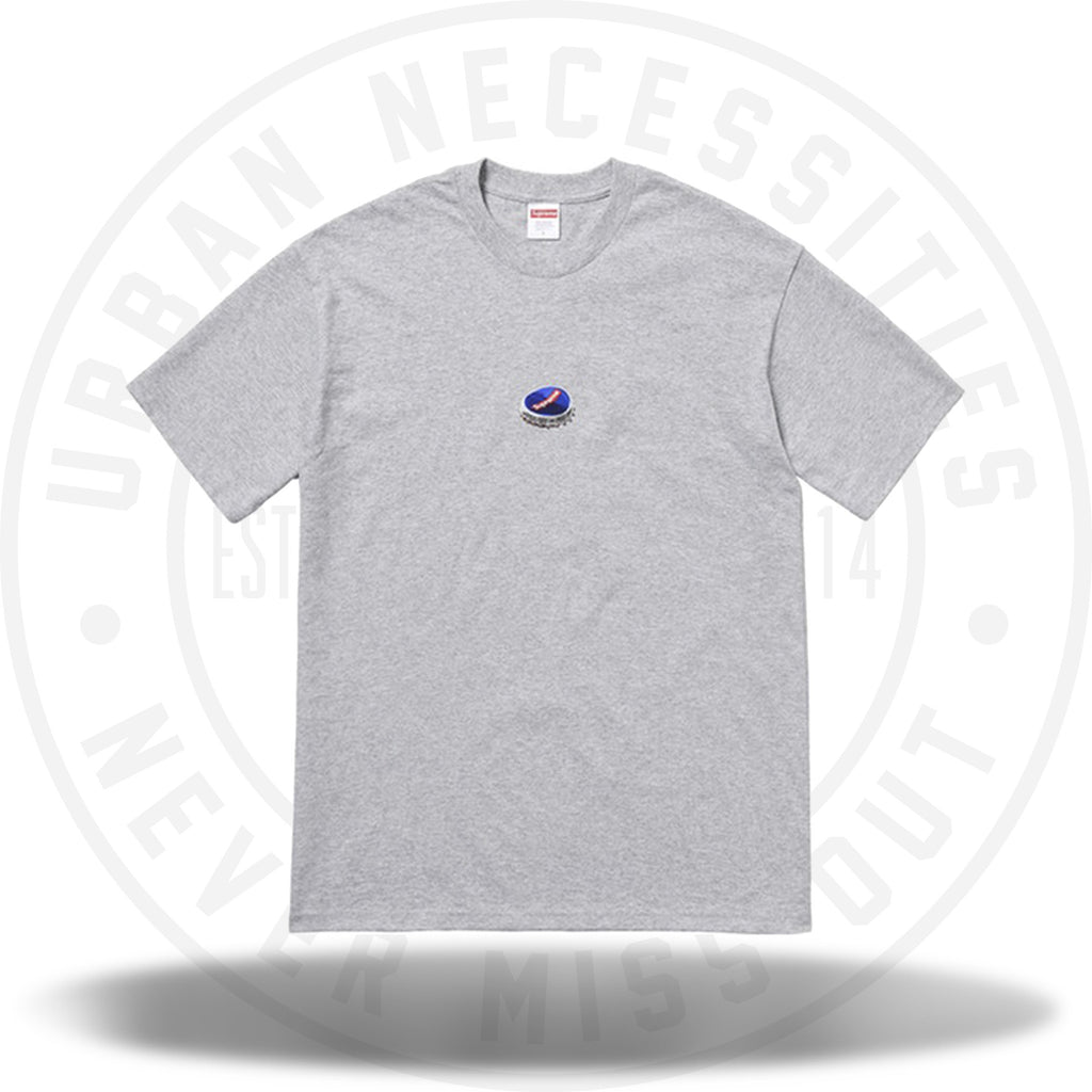 Supreme Bottle Cap Tee Heather Grey-Urban Necessities