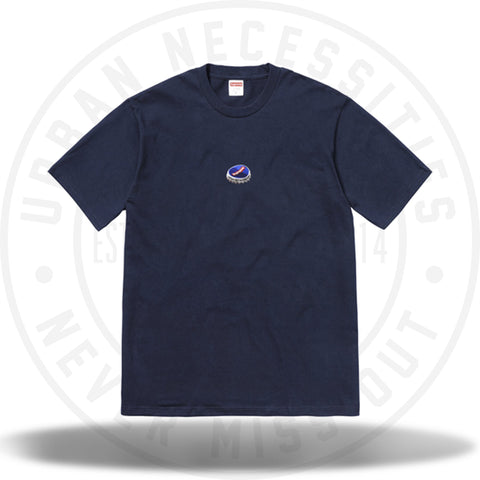 Supreme Bottle Cap Tee Navy-Urban Necessities