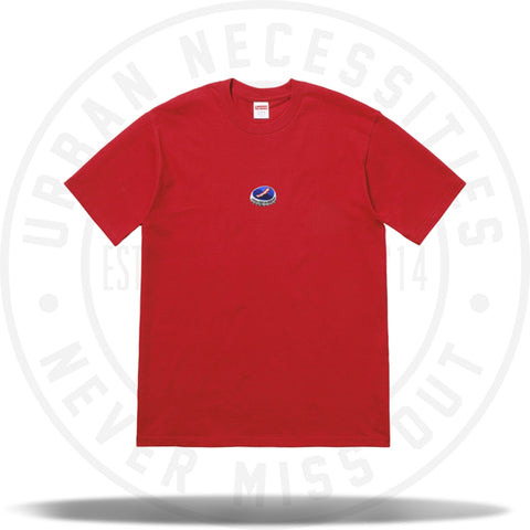 Supreme Bottle Cap Tee Red-Urban Necessities