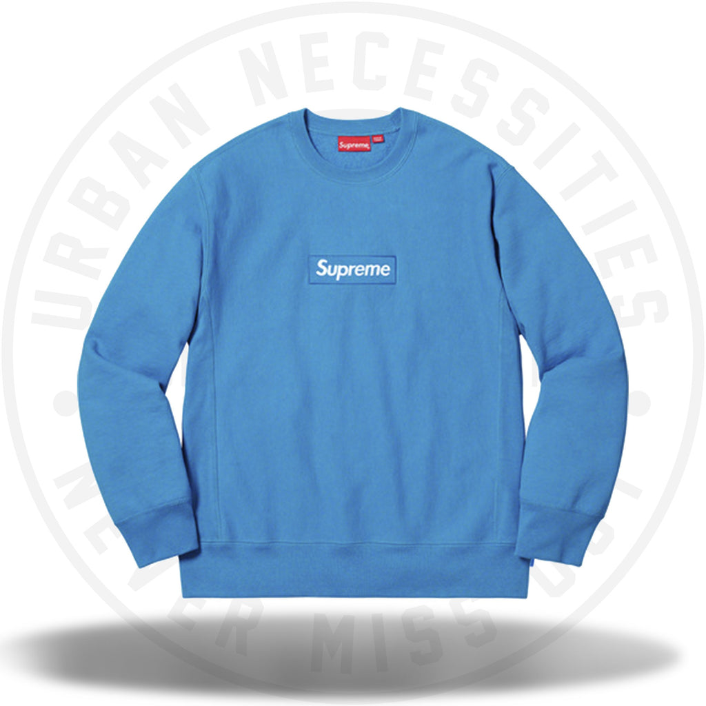 Supreme Box Logo Crewneck (FW18) Bright Royal-Urban Necessities
