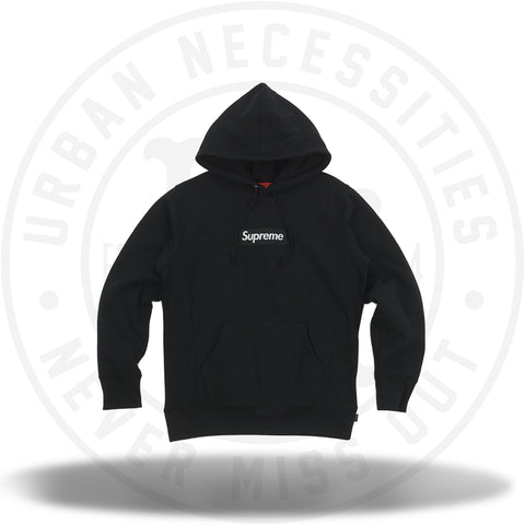 Supreme Box Logo Hooded Sweatshirt Black (FW16)-Urban Necessities