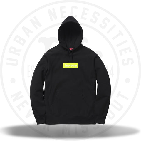 Supreme Box Logo Hooded Sweatshirt (FW17) Black-Urban Necessities