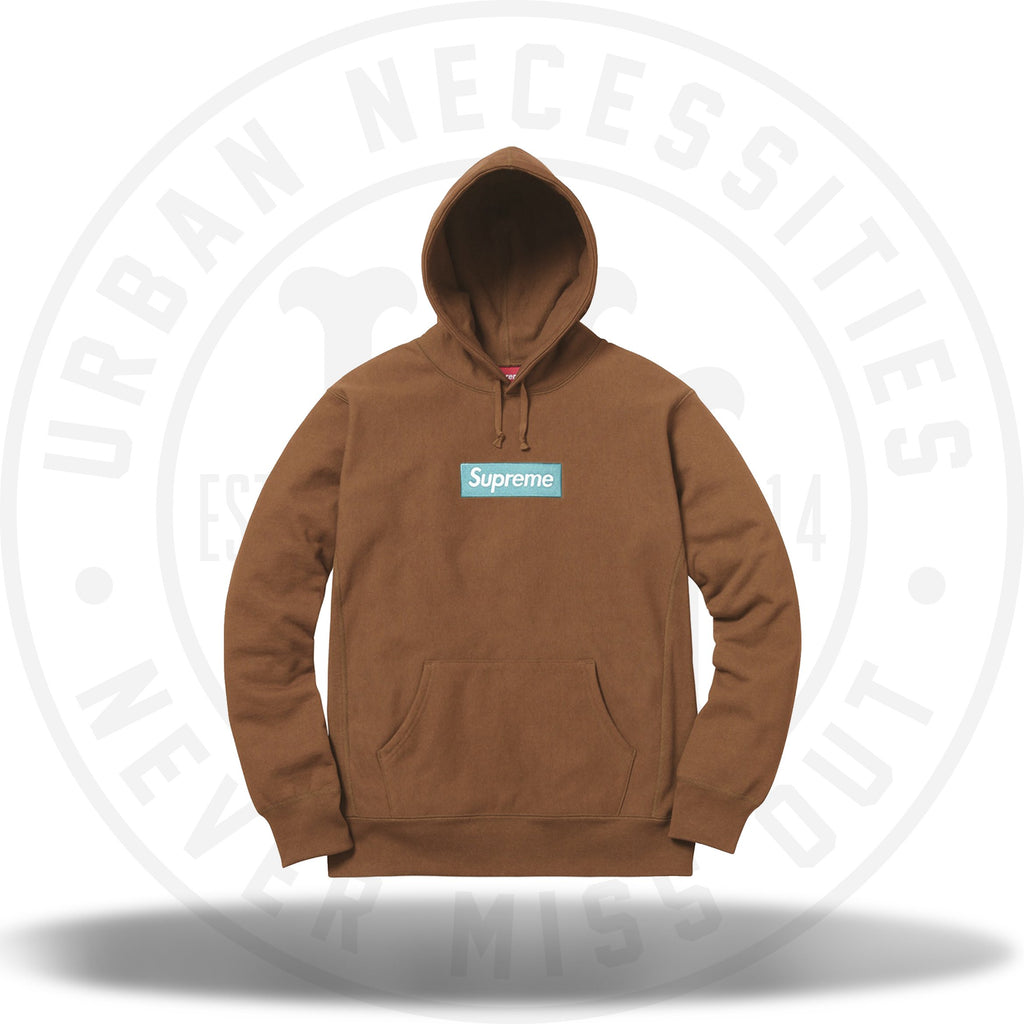 Supreme Box Logo Hooded Sweatshirt Rust-Urban Necessities