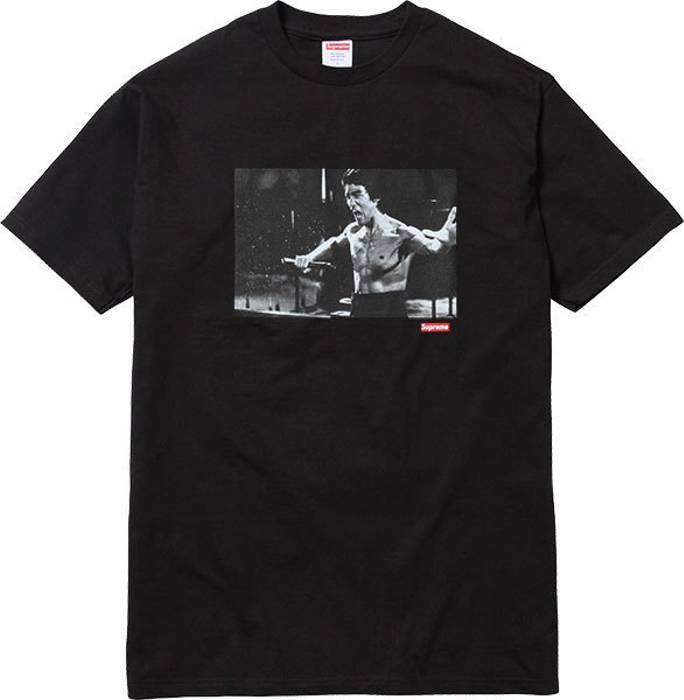 Supreme Bruce Lee Tee Black-Urban Necessities