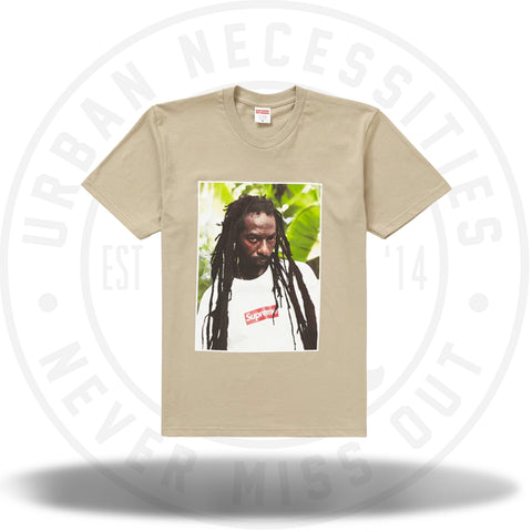 Supreme Buju Banton Tee Clay-Urban Necessities