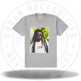 Supreme Buju Banton Tee Heather Grey-Urban Necessities