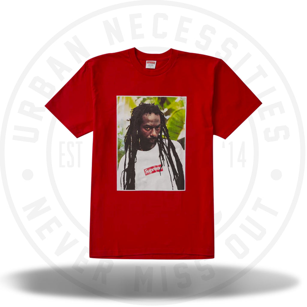 Supreme Buju Banton Tee Red-Urban Necessities
