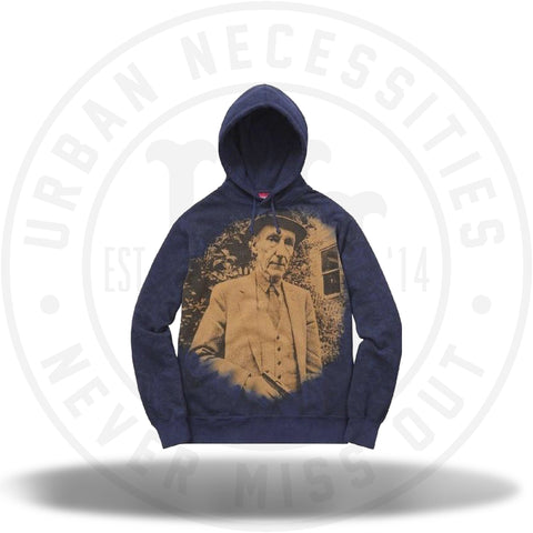 Supreme Burroughs Hooded Sweatshirt Navy-Urban Necessities