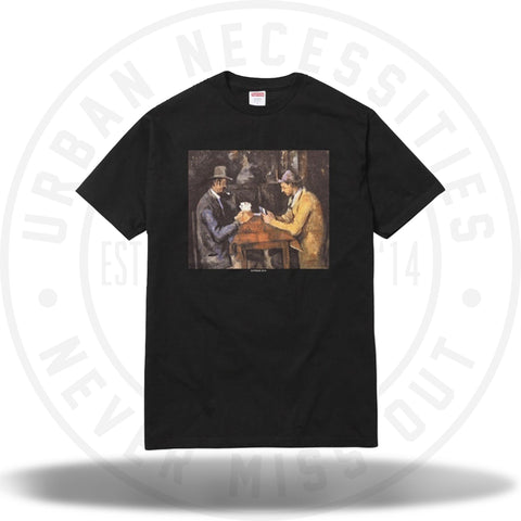 Supreme Cards Tee Black-Urban Necessities