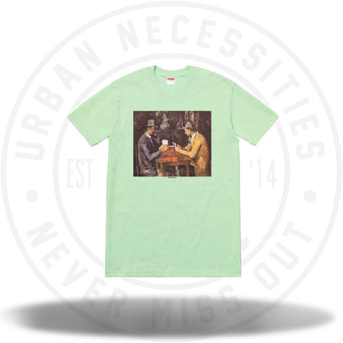 Supreme Cards Tee Mint-Urban Necessities