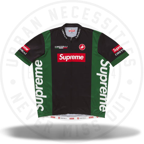 Supreme Castelli Cycling Jersey Black-Urban Necessities