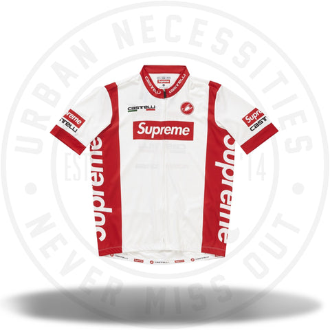 Supreme Castelli Cycling Jersey White-Urban Necessities