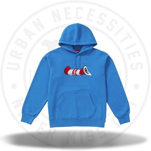 Supreme Cat in the Hat Hooded Sweatshirt Bright Royal-Urban Necessities