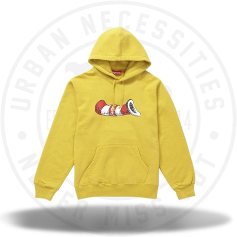 Supreme Cat in the Hat Hooded Sweatshirt Mustard-Urban Necessities