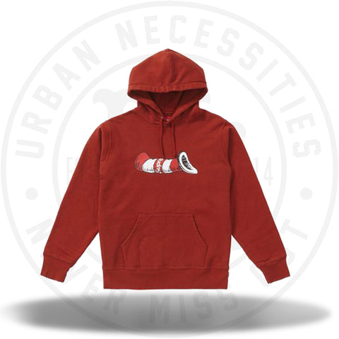 Supreme Cat in the Hat Hooded Sweatshirt Rust-Urban Necessities