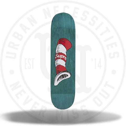 Supreme Cat in the Hat Skateboard Green-Urban Necessities