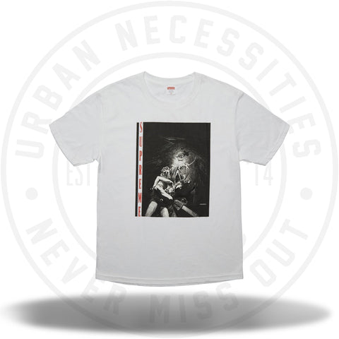 Supreme Chainsaw Tee White-Urban Necessities