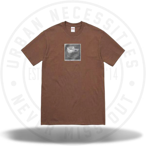 Supreme Chair Tee Brown-Urban Necessities
