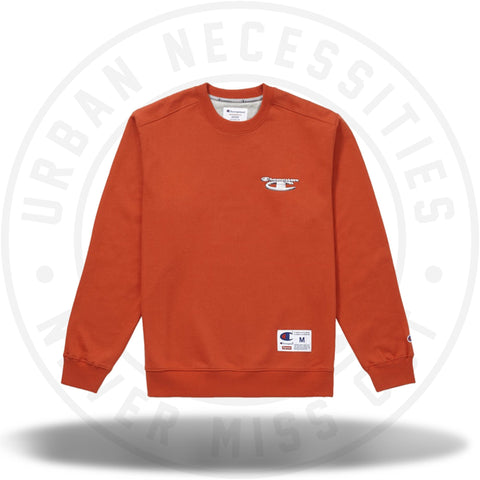 9c206ff4e61b Supreme Champion 3D Metallic Crewneck Brick Red-Urban Necessities