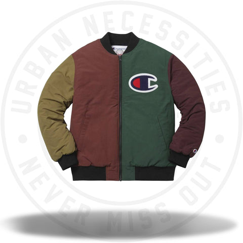 Supreme Champion Color Blocked Jacket Multi-Urban Necessities