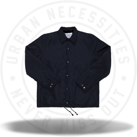 Supreme Champion Label Coaches Jacket Black-Urban Necessities