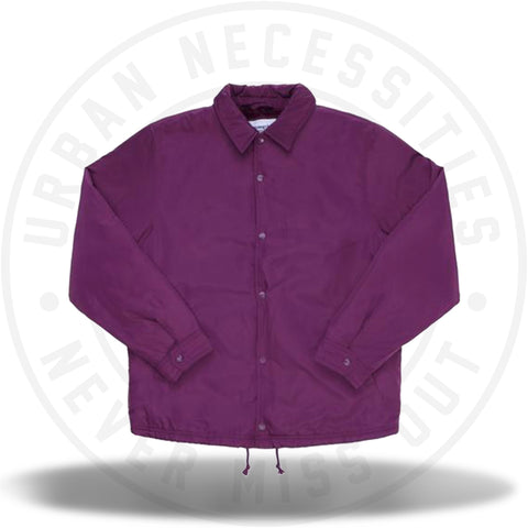 Supreme Champion Label Coaches Jacket Purple-Urban Necessities